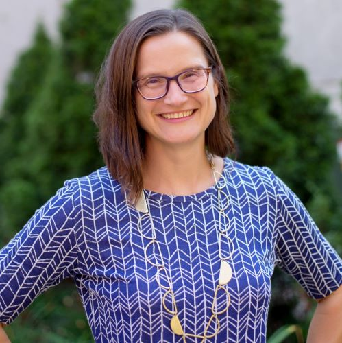 Director of Grants, Fellowships, and Research, Jessica Fowle.
